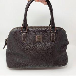 Authentic Dooney & Bourke Pebbled Leather Satchel